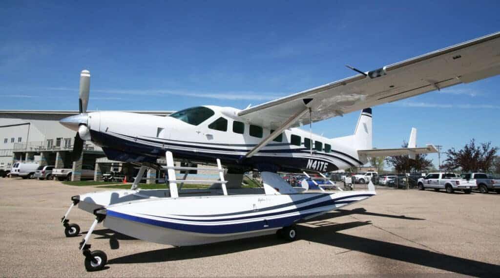 N41TE Seaplane